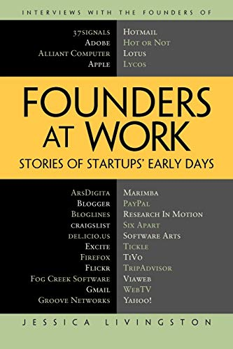 Founders at Work: Stories of Startups' Early Days (Recipes: a Problem-Solution Ap) By Jessica Livingston