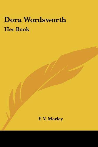 Dora Wordsworth By F V Morley