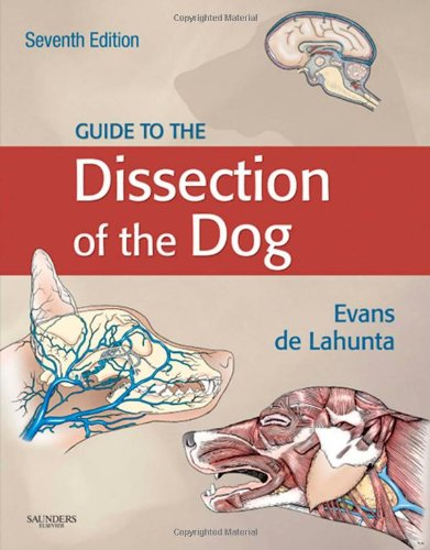 Guide to the Dissection of the Dog By Howard E. Evans