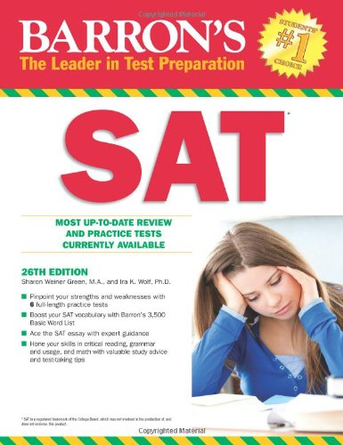 Barron's SAT with CD Rom By Ira K. Wolf