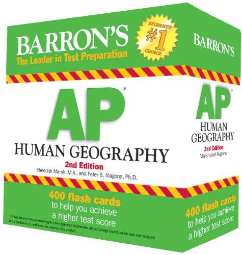 AP Human Geography Flash Cards By Meri Marsh