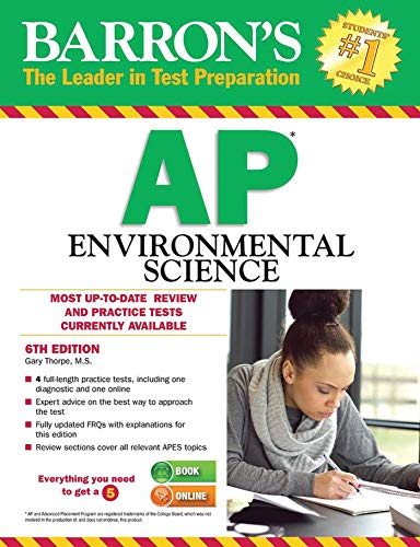Barron's AP Environmental Science By Gary S. Thorpe