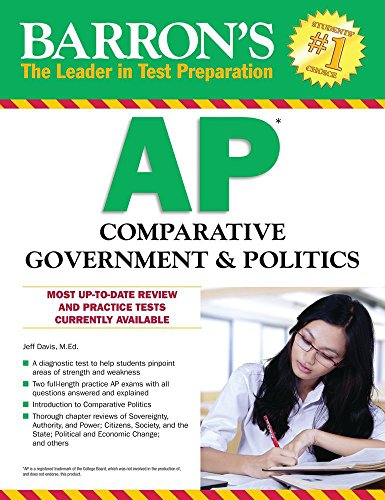Barron's AP Comparative Government & Politics (Barrons Test Prep) By Jeff Davis
