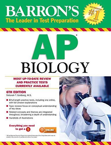 Barron's AP Biology By Deborah T. Goldberg