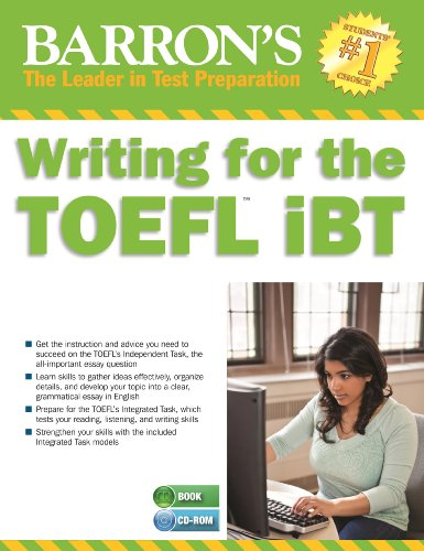 Writing for the TOEFL iBT with MP3 CD By Lin Lougheed