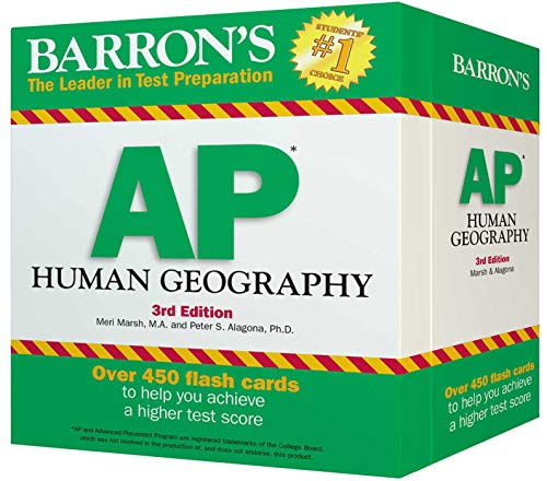 AP Human Geography Flash Cards By Meredith Marsh, Ph.D.