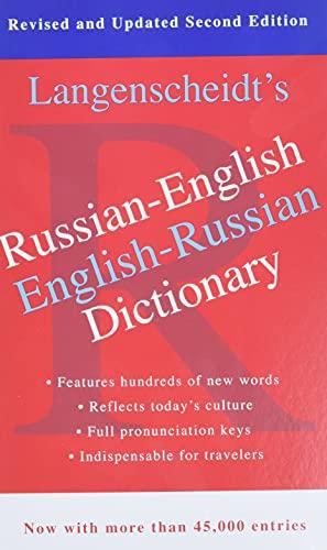 Langenscheidt's Russian-English Dictionary By Langenscheidt