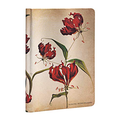 Bot, Gloriosa Lily, Mini, Lin By Paperblanks