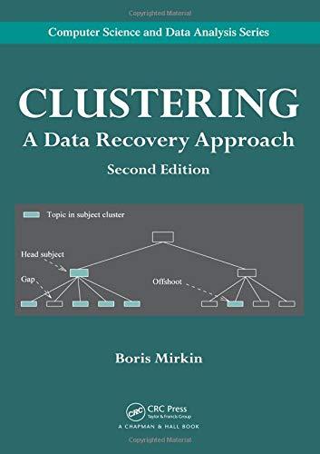 Clustering By Boris Mirkin