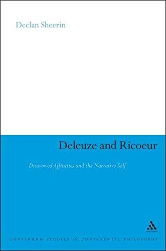 Deleuze and Ricoeur By Declan Sheerin