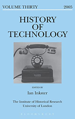 History of Technology Volume 30 by Edited by Ian Inkster