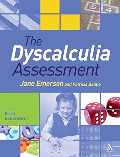 The Dyscalculia Assessment By Jane Emerson