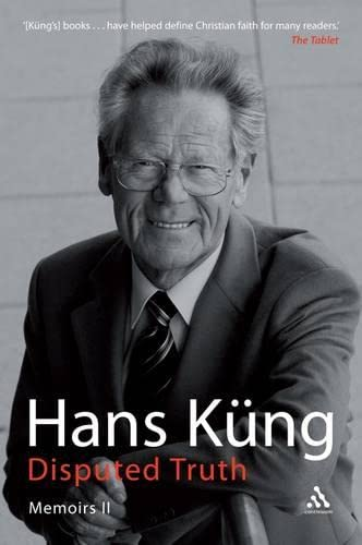 Disputed Truth By Hans Kung