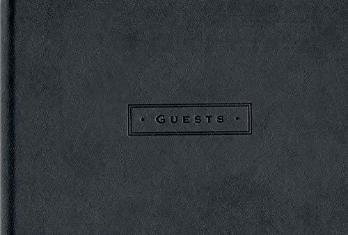 Classic Black Guest Book (Organizer) Created by Peter Pauper Press