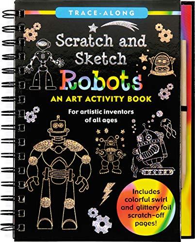 Scratch & Sketch Trace-Along Robots By Lee Nemmers