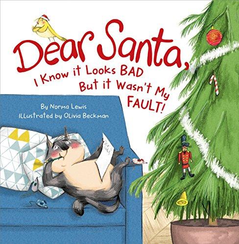 Dear Santa I Know It's Not My Faul By Inc Peter Pauper Press
