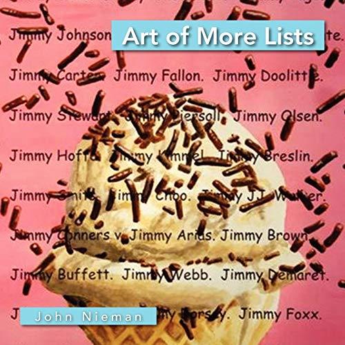 Art of More Lists By John Nieman