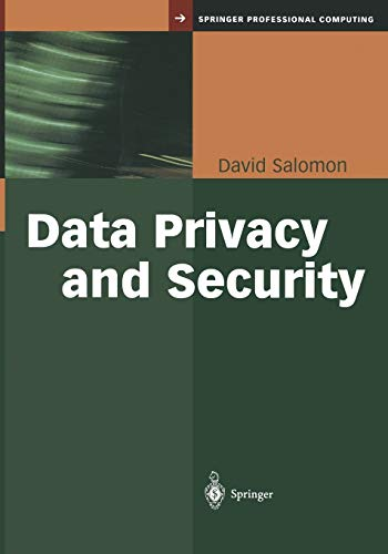 Data Privacy and Security By David Salomon