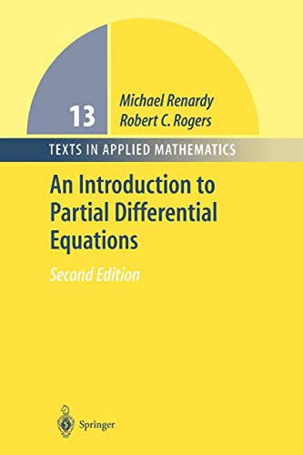 An Introduction to Partial Differential Equations By Michael Renardy