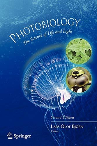 Photobiology By Lars Olof Bjoern