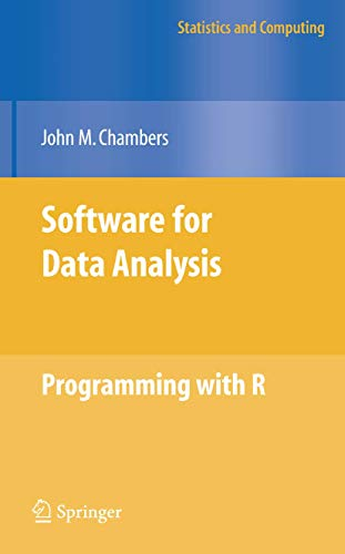 Software for Data Analysis By John Chambers