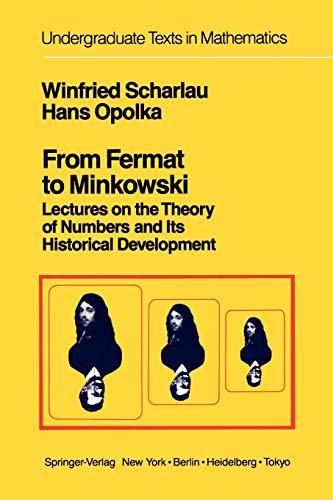 From Fermat to Minkowski By W.K. Buhler