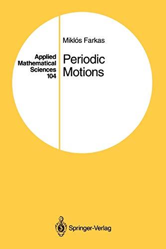 Periodic Motions By Miklos Farkas