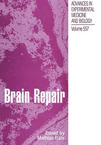 Brain Repair By Mathias Bahr