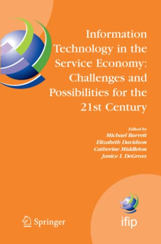 Information Technology in the Service Economy: By Michael Barrett