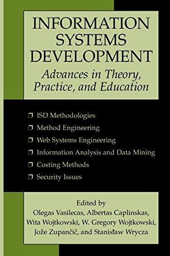 Information Systems Development By Olegas Vasilecas