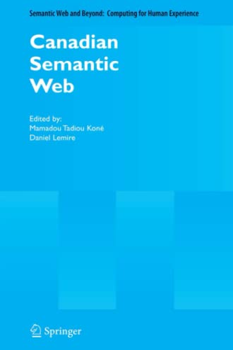 Canadian Semantic Web By Mamadou Tadiou Kone
