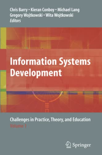 Information Systems Development By Chris Barry