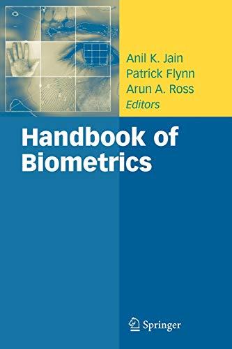Handbook of Biometrics By Anil K. Jain