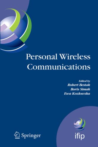 Personal Wireless Communications By Robert Bestak