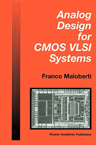 Analog Design for CMOS VLSI Systems By Franco Maloberti