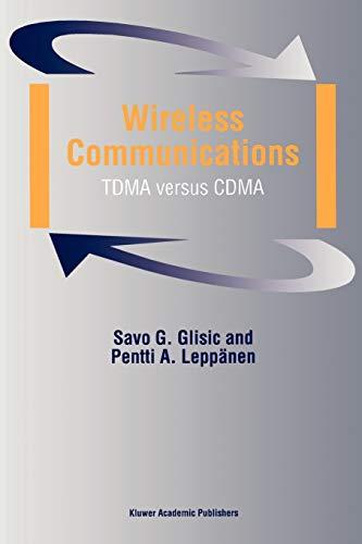 Wireless Communications By Savo G. Glisic