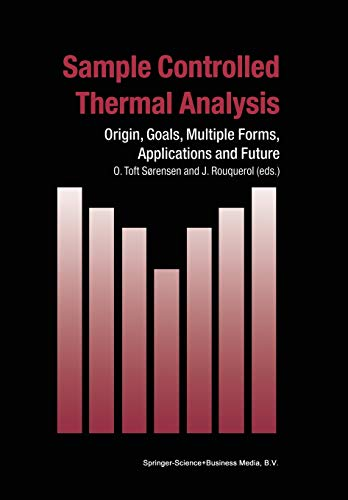 Sample Controlled Thermal Analysis By O. Toft Sorensen