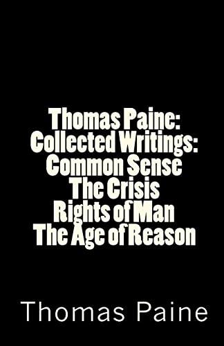 Thomas Paine By Thomas Paine