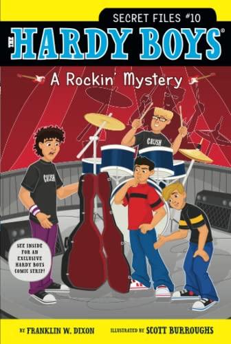 HBSF #10: A Rockin' Mystery By Franklin W. Dixon