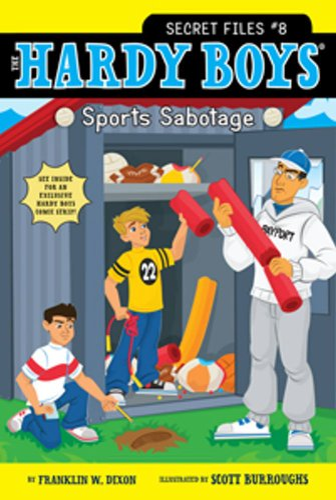 HBSS #8:Sports Sabotage By Franklin W. Dixon