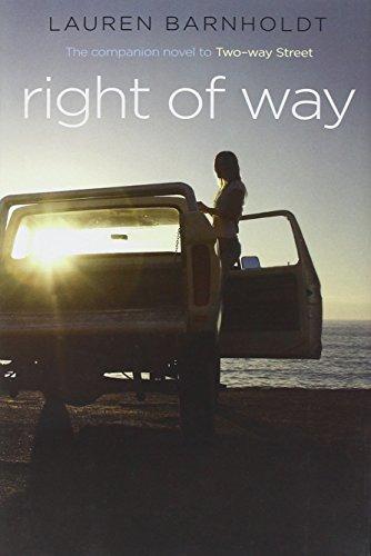 Right of Way By Lauren Barnholdt