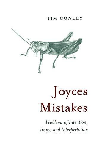 Joyces Mistakes By Tim Conley