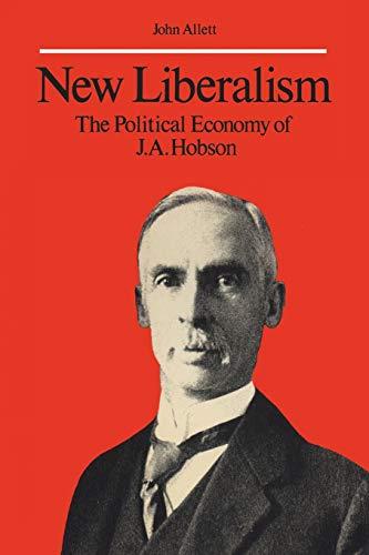 New Liberalism By John Allett