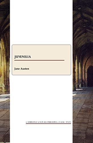 Juvenilia By Jane Austen