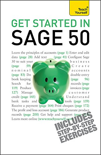 Get Started in Sage 50: Teach Yourself by Mac Bride