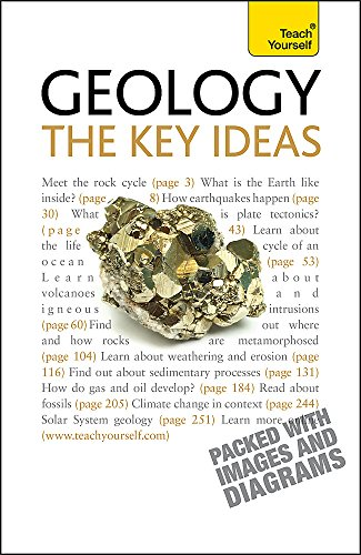 Geology - The Key Ideas By David Rothery
