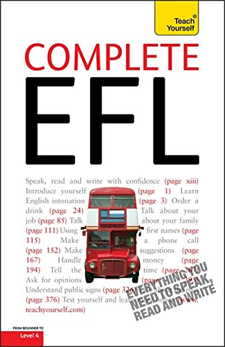 Complete English as a Foreign Language: Teach Yourself By Sandra Stevens
