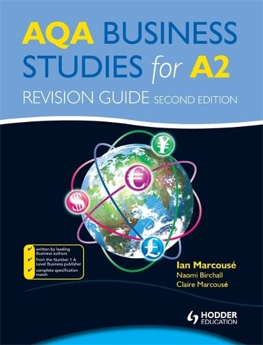 AQA Business Studies for A2: Revision Guide by Ian Marcouse