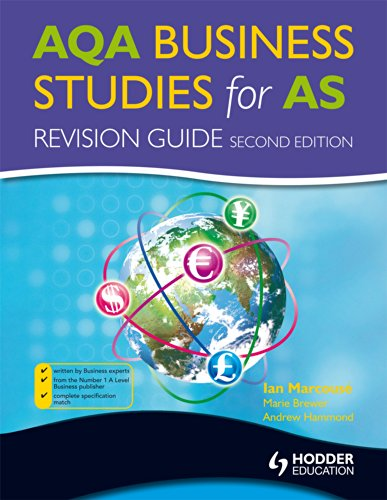 AQA Business Studies for AS: Revision Guide by Ian Marcouse
