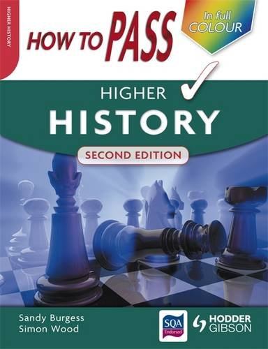 How to Pass Higher History by Sandy Burgess